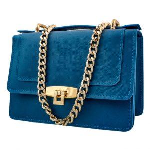 Messenger Pocket Azul Safiano- Pielxpiel-4