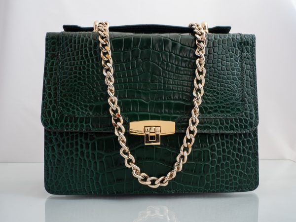 Bolso Messenger Coco Samantha Verde frontal