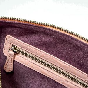 Interior bolso Bolowing rosa bebe coco samantha- Pielxpiel-