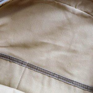 Mochila piel taupe grabado tortuga - Pielxpiel-2