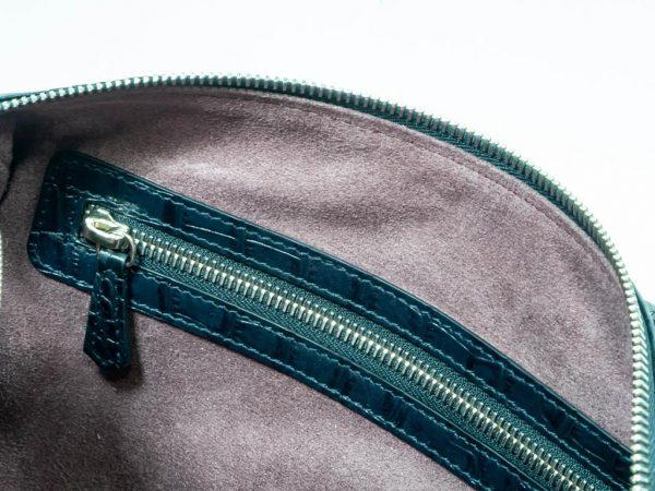 Bolso bolowing coco samantha azul interior